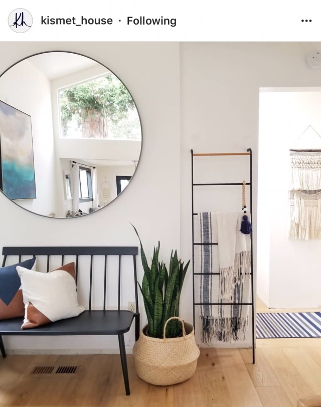 I Hope This Inspires You To Find A Blanket Ladder And Make It Your Own In One Of Your Spaces Fine More Styling Inspiration And Blanket Ladder Diys Here