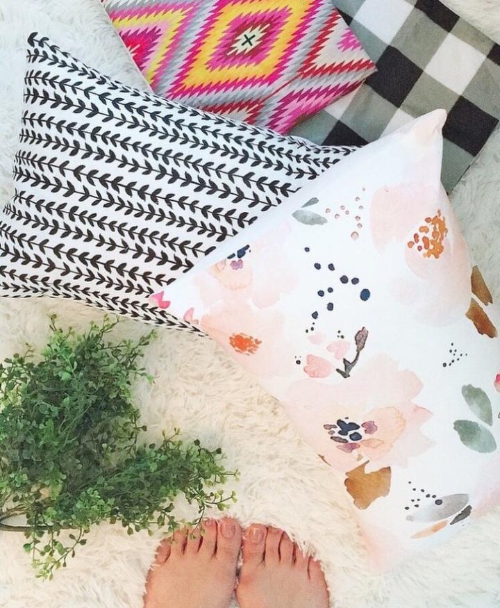 Modern Farmhouse boho neutral throw pillows