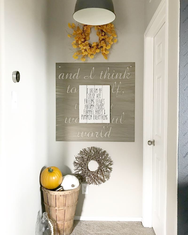 Modern farmhouse fall farmhouse fall decor