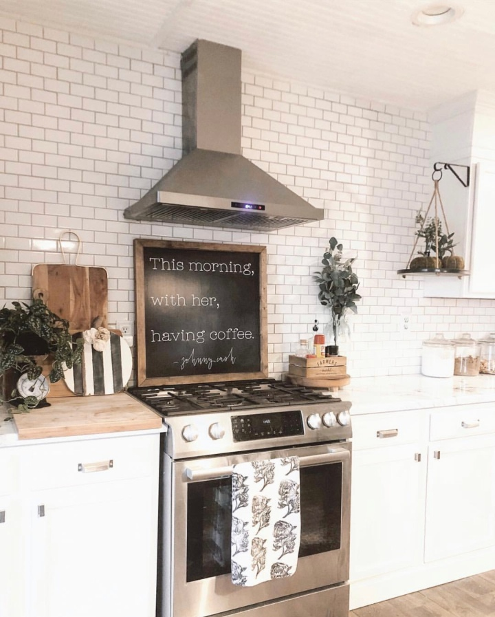 Modern farmhouse fall home decor farmhouse kitchen