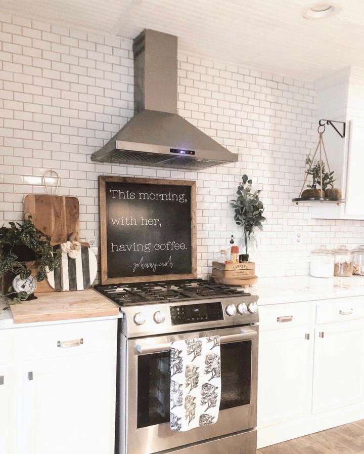 Modern farmhouse fall home decor farmhouse kitchen