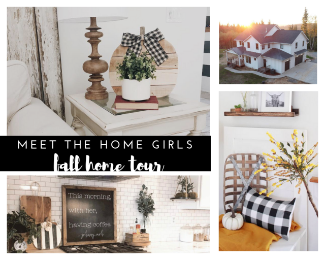 Home girl fall home tour modern farmhouse home tour