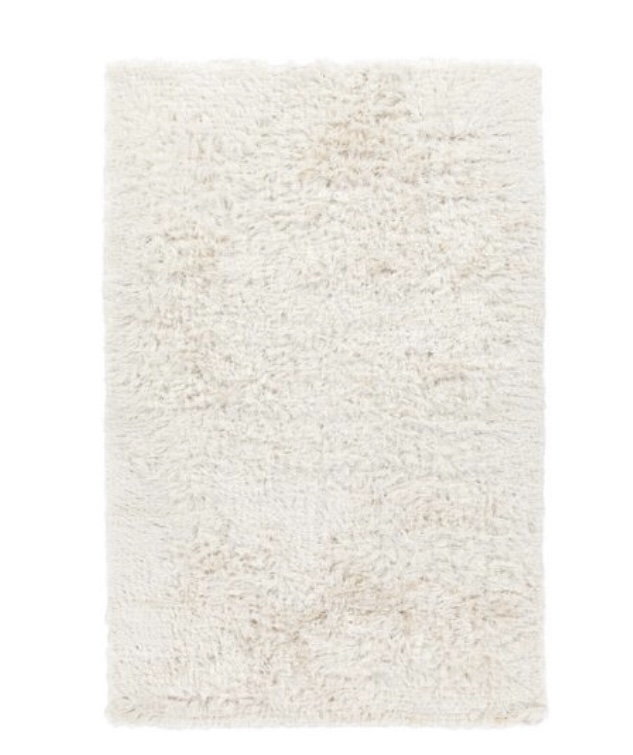 The best white shag rug