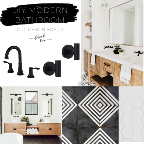 One room challenge master bathroom diy