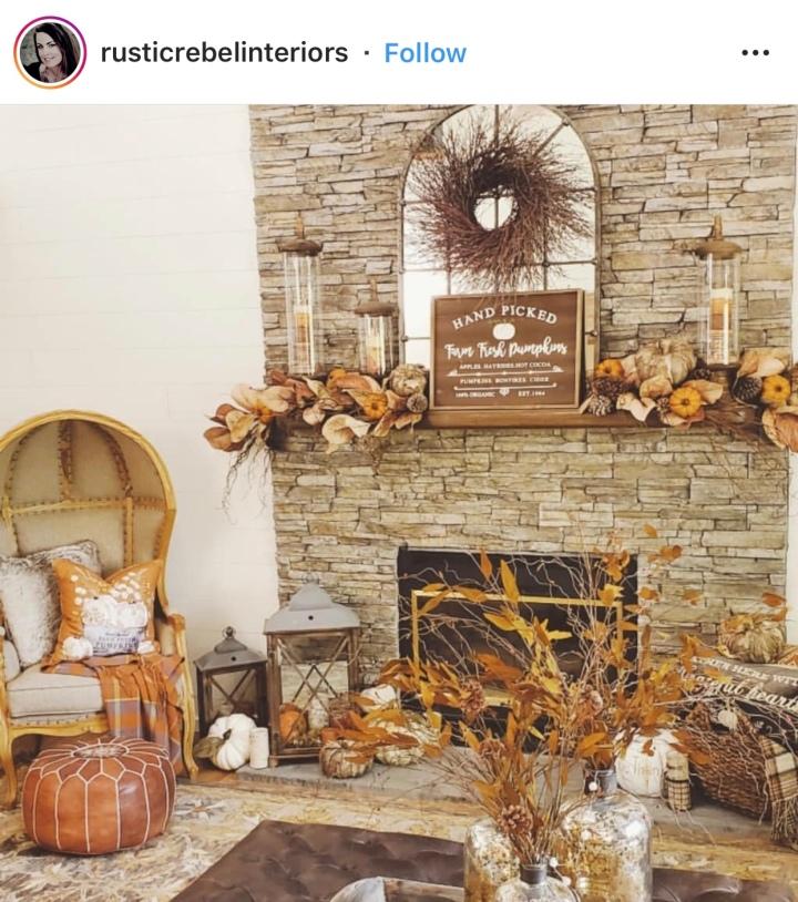 Fall Mantle Decor Fall Decorating Fall Decor Inspiration