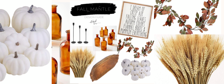 Fall Mantle Basics // Fall Mantle Inspiration
