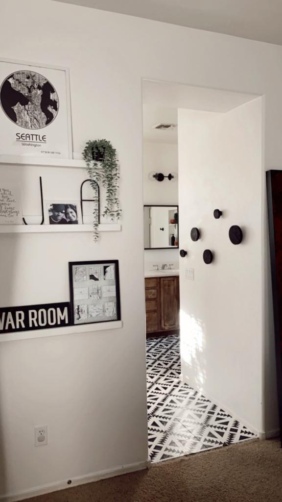 Bathroom renovation home upgrade