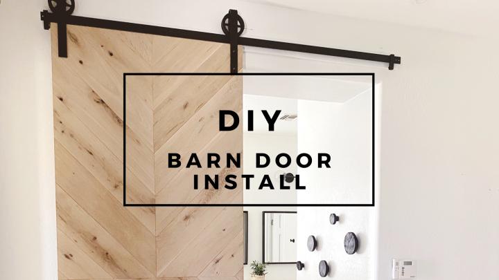 Modern barn door diy